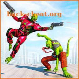 Lizard Man Robot Transformation Game – TPS Shooter icon