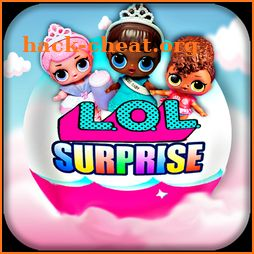 lol surprise eggs : balls dolls chocola icon