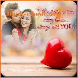 Love Quotes Photo Frame HD icon