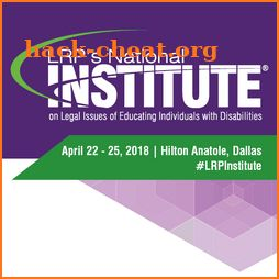 LRP's National Institute 2018 icon