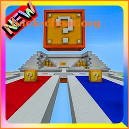 Lucky Blocks Race Minigame Map for MCPE icon