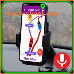 Map Driving Navigation Route & Gps Find Traffic icon