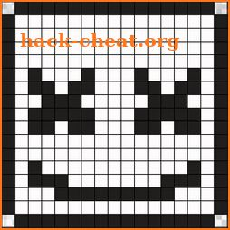 Marshmello Pixel Art World icon