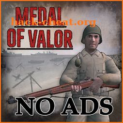 Medal Of Valor D-Day WW2 NO ADS icon
