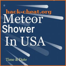 Meteor Shower USA 2019 icon
