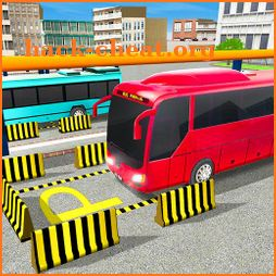 Modern Bus Parking Simulator - Real Driving Games icon