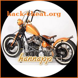 Modified Harley Davidson icon