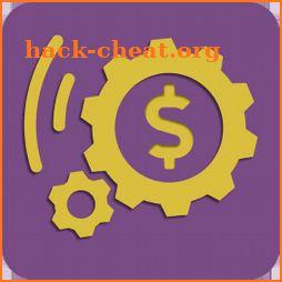 Icône de machine à fabriquer de l'argent