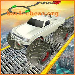 Monster Truck Driving Stunts: Impossible Tracks 19 icon