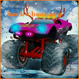Monster Truck Racing Christmas icon