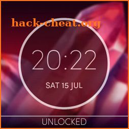 Moto Z2 Play Digital Clock Widget Unlocked icon