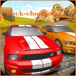 Mustang Driving Car Race icon