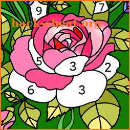 My Coloring Art - Paint by Number Puzzle Game icon