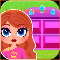 My Own Family Doll House Game icon