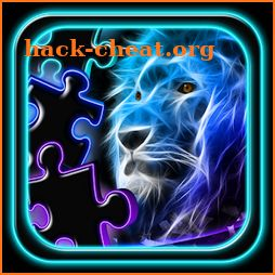 Neon Animals Jigsaw Puzzle icon