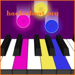 Neon Piano - Magic Dream Tiles 4 icon