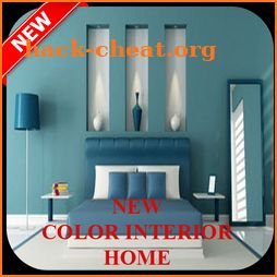 new home interior paint icon