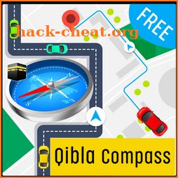 NEW Qibla Direction compass - Muslim Qibla Compass icon