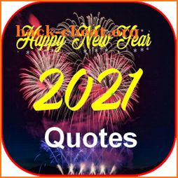 New Year 2021 Wishes icon