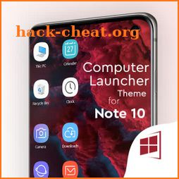 Note 10 theme for computer launcher icon