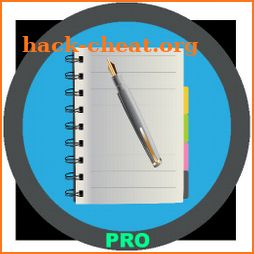 Notepad: notes, checklist, pics, passwords Pro icon