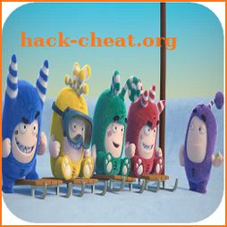 Oddbods skiing Adventure icon