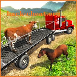 Offroad Farm Animal Truck Driving Game 2018 icon