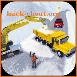 Offroad Snow Excavator Driver: Truck 3D Simulator icon