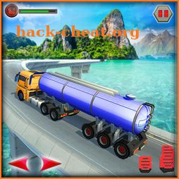 Offroad Water Tank Transport Truck Driving Game icon