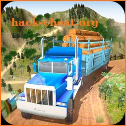 Offroad Wood Transport Truck Driver 2018 icon