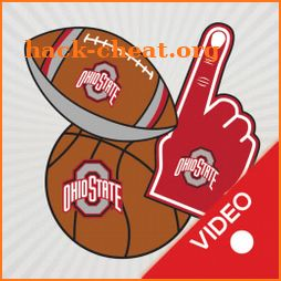 Ohio State Buckeyes Animated Selfie Stickers icon