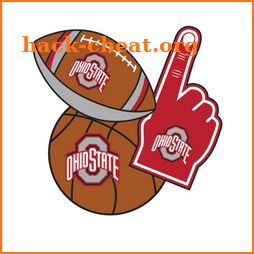 Ohio State Buckeyes Selfie Stickers icon