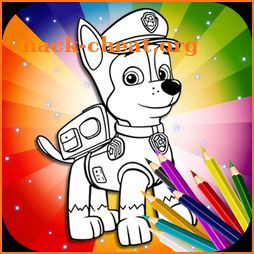 Paw Coloring Book icon