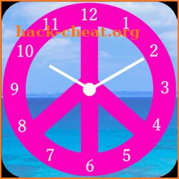 Peace Mark(Pink Color) icon