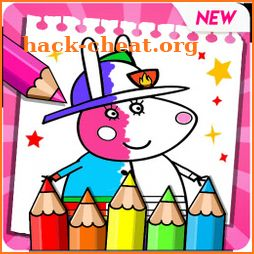 Peepa Pig: Coloring Book for piggy icon
