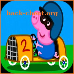 Peppa Happy Racing Pig 2018 icon