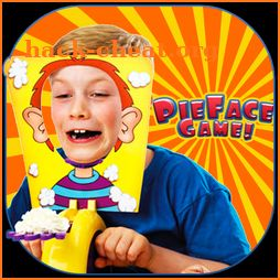 pie on face game icon