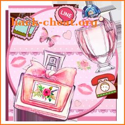 Pink Paris Perfume Themes Live Wallpapers icon