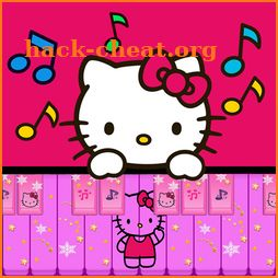 Pink Piano Tiles Kids Piano Magic Music Games icon