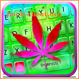 Pink Weed Keyboard Theme icon