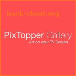 PixTopper Gallery – Art on your TV screen icon