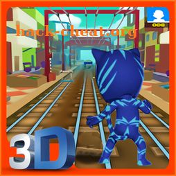 PJ Catboy Masks Subway Hero Run Adventure Rush icon