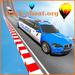 Police Limo Car Stunts GT Racing icon