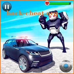 Police Panda Robot Transform: Robot Attack icon