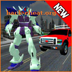 Police Robot Transport Truck Games:Robot Simulator icon