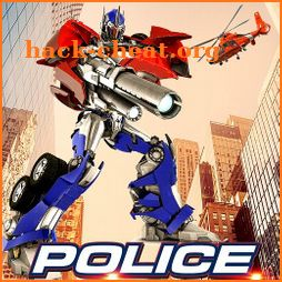 Police War Robot Superhero icon