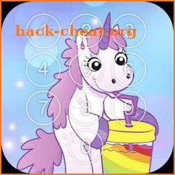 Pony Unicorn Screen Lock icon