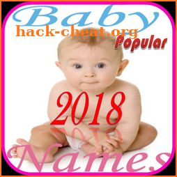 Popular Baby's Name 2018 icon