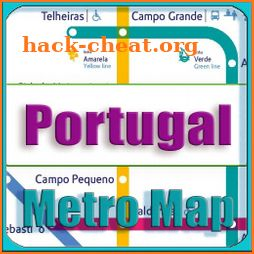 Portugal Metro Map Offline icon