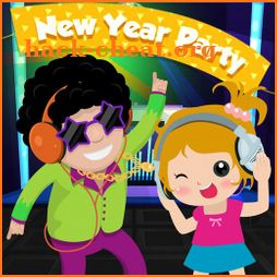 Pretend Play My Home New Year Party 2020 Kids Game icon